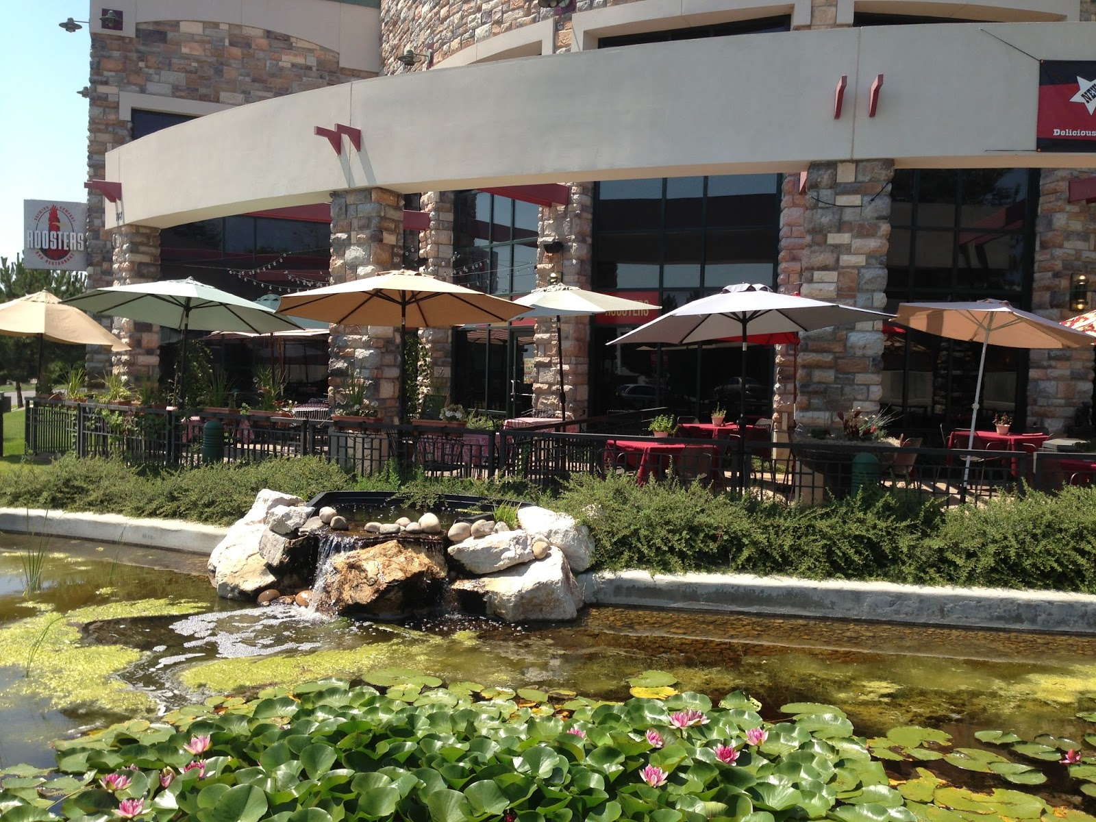 ... Corbinu0027s Grille In Layton (748 W. Heritage Park Blvd., Layton) These  Two (separately Owned) Restaurants Share Patios That Overlook A Waterfall  Pool With ...