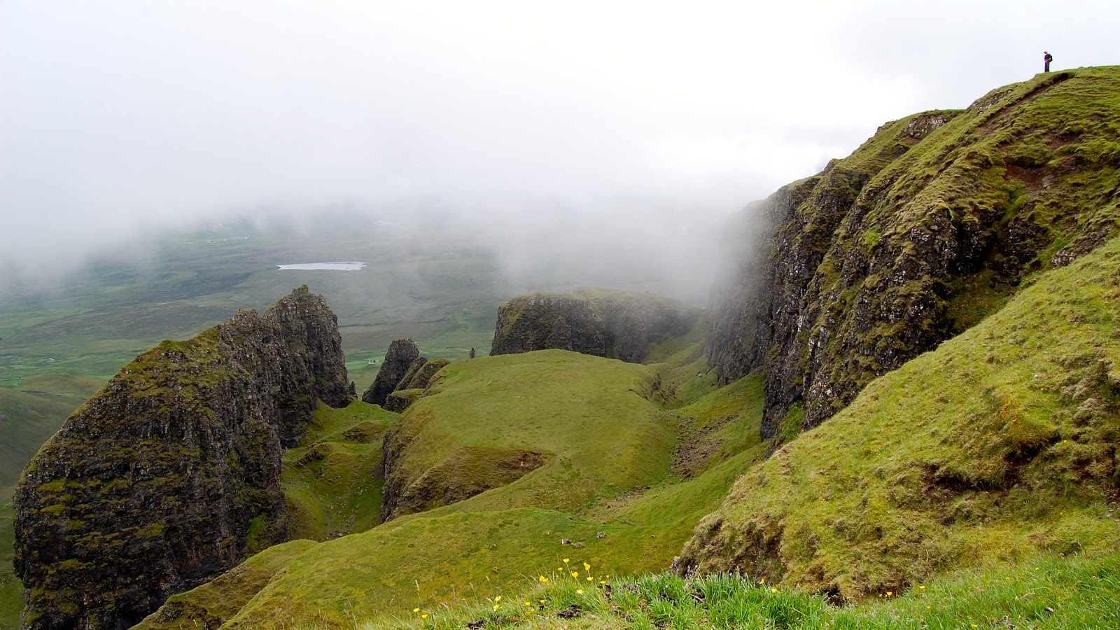 "The ""Table,"" part of the Quiraing on the Isle of Skye"