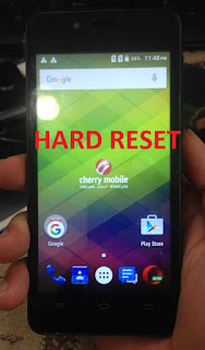Cherry Mobile FLARE J1 Mini hard reset