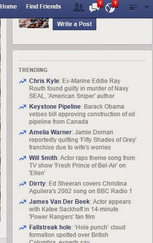 popular keyword searches in Face Book
