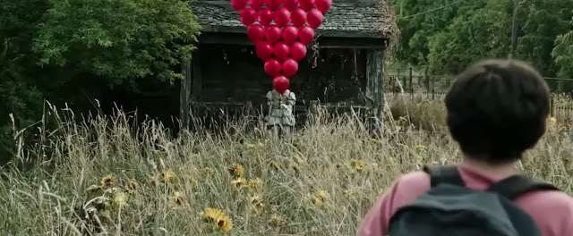 Don't worry, I'm sure the clown holding all those balloons is totally friendly.