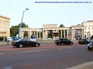 Arcada de entrada a Hyde Park.