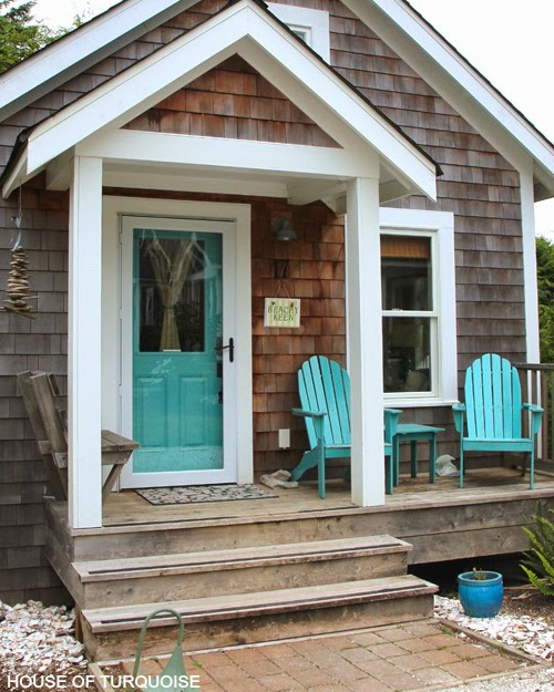 Coastal & Nautical Front Door Ideas