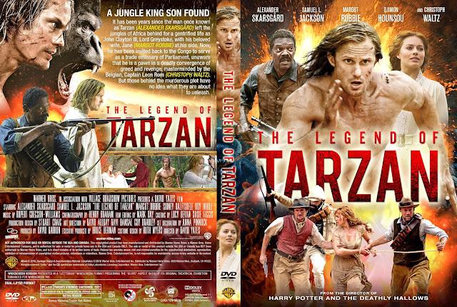 The Legend Of Tarzan DVD Cover