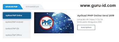 gambar aplikasi PMP online 2019