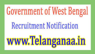 Government of West BengalDepartment of Municipal Affairs Recruitment Notification 2017