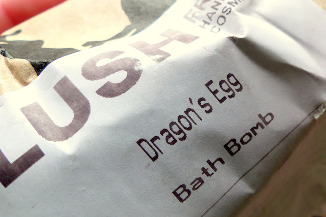 Lush Bath Bomb Dragon's Egg Review