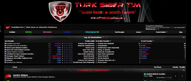 Vbulletin Turk Hack Team Teması İndir