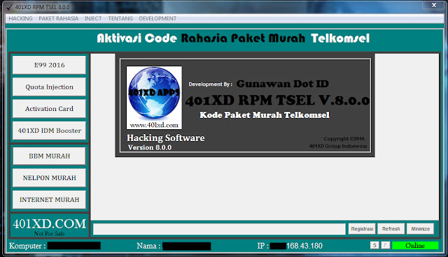 Serial key 401XD RPM, Serial key 401XD RPM Terbaru, Serial key 401XD RPM 2016, Serial key 401XD RPM v.7.0.0, Inject isat terbaru, Inject isat bugs baru, Inject isat 1 April, Mei  2016, Inject isat 2 April, Mei  2016,  Inject isat 3 April, Mei  2016, Inject isat 4 April, Mei  2016, Inject isat 5 April, Mei  2016,  Inject isat 6 April, Mei  2016, Inject indosat 7 April, Mei  2016, Inject indosat 8 April, Mei  2016,  Inject indosat 9 April, Mei  2016, Inject indosat 10 April, Mei  2016, Inject indosat 11 April, Mei  2016,  Inject indosat 12 April, Mei  2016, Inject xl terbaru, Inject xl bugs baru, Inject xl 13 April, Mei  2016, Inject xl 14 April, Mei  2016,  Inject xl 15 April, Mei  2016, Inject xl 16 April, Mei  2016, Inject xl 17 April, Mei  2016,  Inject xl 18 April, Mei  2016, Inject tsel squid terbaru, Inject tsel bugs baru, Inject tsel squid 1 April, Mei  2016, Inject tsel squid 2 April, Mei  2016,  Inject tsel squid 3 April, Mei  2016, Inject tsel 4 April, Mei  2016, Inject tsel 5 April, Mei  2016, Inject tsel 6 April, Mei  2016, Inject tsel anti limit, Inject tsel squid proxy, Inject tsel terbaru, Inject Telkomsel terbaru, Inject Telkomsel bugs baru, Inject Telkomsel 7 April, Mei  2016, Inject Telkomsel 8 April, Mei  2016,  Inject Telkomsel 9 April, Mei  2016, Inject Telkomsel 10 April, Mei  2016, Inject Telkomsel 11 April, Mei  2016,  Inject Telkomsel 12 April, Mei  2016, Inject Telkomsel anti limit, Inject Telkomsel squid proxy, Inject Telkomsel terbaru, Trik e99 terbaru, trik e99 2016, cara mengerorkan kartu telkomsel 2016, tool e99, trik memperpanjang masa aktif terbaru, perpanjang masa aktif telkomsel 2016, cara perpanjang masa aktif, trik tembak quota tsel terbaru, trik tembak quota telkomsel 2016, trik tembak quota 2016, trik hack quota terbaru