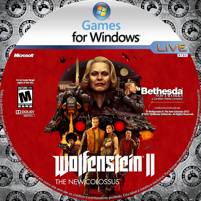 Label Wolfenstein II: The New Colossus PC [Exclusiva]