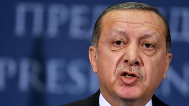 Presidente turco acusa a EEUU de acoger a terroristas