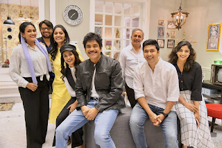 Keerthy Suresh with Cute and Awesome Smile with Manmadhudu2 Team 1