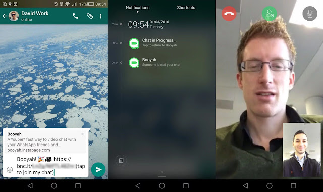 Cara video call grup di WhatsApp