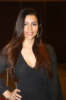 Kyra Dutta in black At Rogue Movie Audio Launch ~  045.JPG