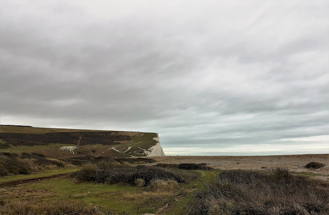 View to Seven Sisters cliffs