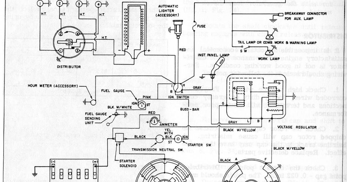 idiots guide to the massey ferguson 65 gas engine electrical diagram