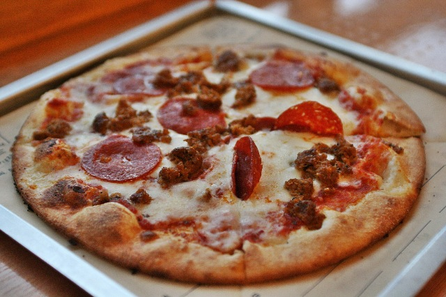 Project Pie Manila Build Your Own Artisan Pizza Pepperoni Cheese