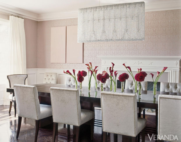Dining Room Inspiration peonies and orange blossoms: dining room inspiration - which way