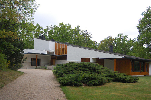 Casa del galerista Louis Carré en Francia | Alvar Aalto