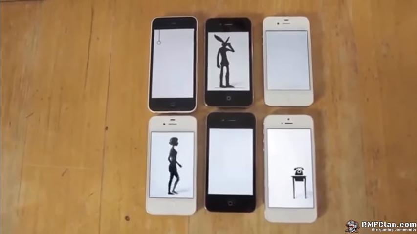 Animasi Kartun Menggunakan Berbagai Produk Apple