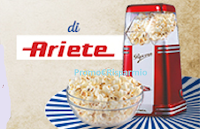 Logo Una scoppiettante offerta per te: in regalo Ariete Pop Corn Party Time