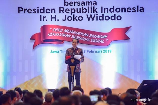 Jokowi Sebut Medsos Makin Tidak Dipercaya, Begini Tanggapan Warganet