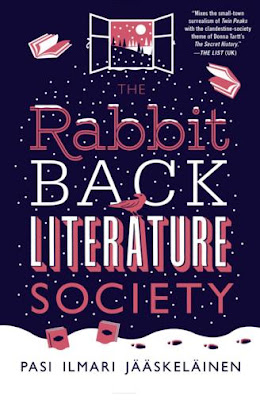 The Rabbit Back Literature Society by Pasi Ilmari Jaaskelainen - book cover