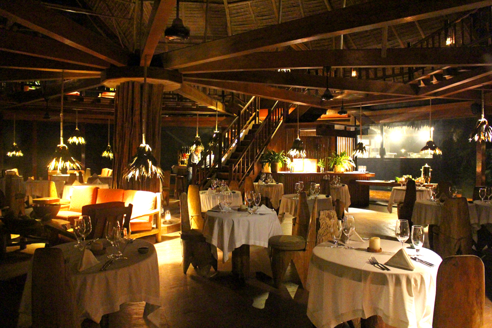 Dinner at Inkaterra Reserva Amazonica Lodge, Peru - travel & lifestyle blog