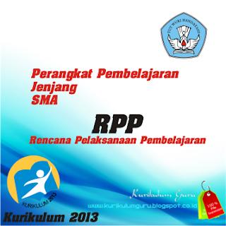 Download Contoh RPP SMA Menggunakan Kurikulum 2013 Gratis