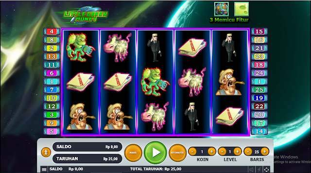 SITUS AGEN SLOT LITTLE GREEN MONEY GAMES HABANERO