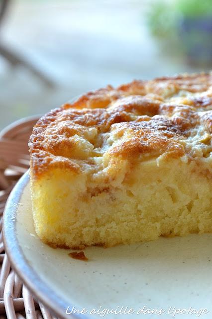recette tupperware gâteau goaron pêche