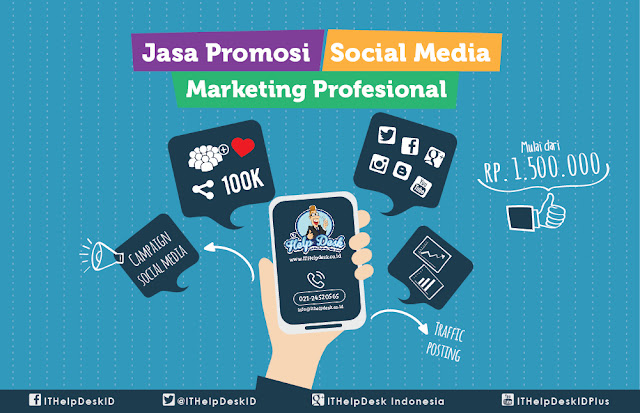Jasa Promosi Social Media Marketing Profesional