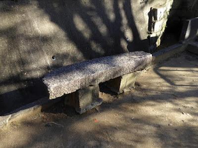 野崎観音・慈眼寺(じげんじ)のベンチ