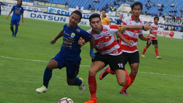 Video Cuplikan Gol Persib 1-2 Madura United   Pekan 7 Gojek Traveloka Liga 1 2018