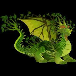 Dragón Bosque Frondoso