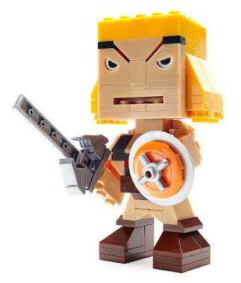 TOYS : JUGUETES - MEGA BLOKS Kubros He-Man : Masters del Universo | Figura - Muñeco Producto Oficial 2016 | Mattel DPH91 | Piezas: 139 | Edad: +10 años Comprar en Amazon España & buy Amazon USA
