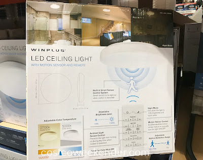 Costco 1165831 - Winplus LED Ceiling Light saves energy and money