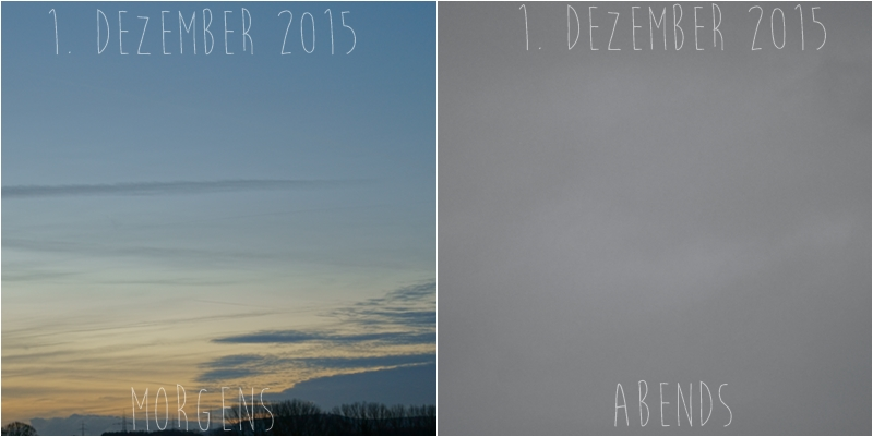 Blog + Fotografie by it's me! - Himmel am 1.12.2015