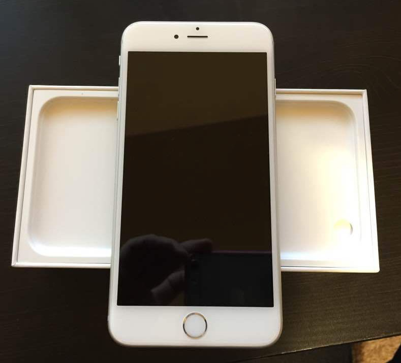 apple iphone 6 plus 5 5 inch 16gb space grey. Black Bedroom Furniture Sets. Home Design Ideas