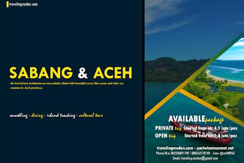 """Paket Wisata """"Sabang Aceh"""" dari Medan"""