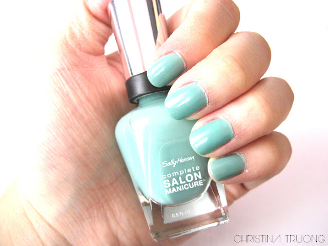 Sally Hansen Complete Salon Manicure Nail Polish 540 Jaded
