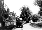 Photograph of Bell Lane, Bell Bar hamlet c1910