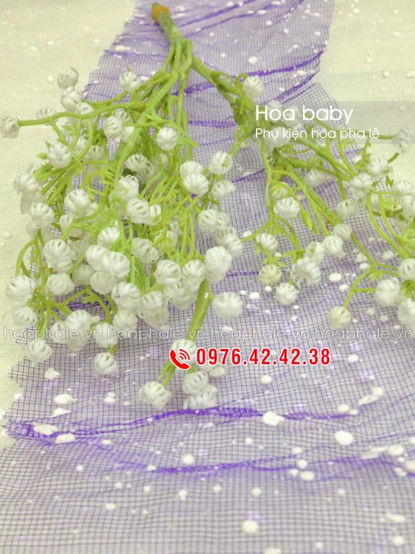 Hoa baby | Phụ kiện cắm hoa pha lê
