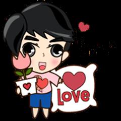 P'Peng Happy Valentine's Day 2017