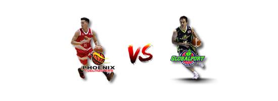 June 20: Phoenix vs GlobalPort, 4:30pm Smart Araneta Coliseum
