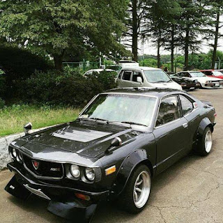 Mazda RX3 Modification Detail