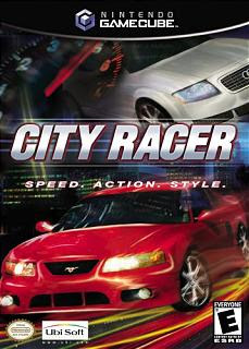 CITY RACER Cover Photo