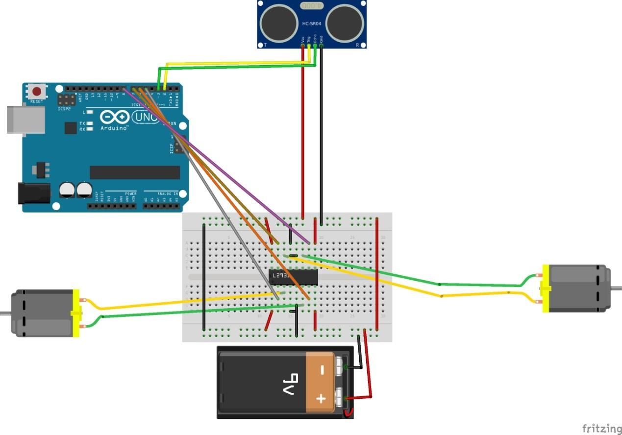 Object Follower Robot - Shariful Islam