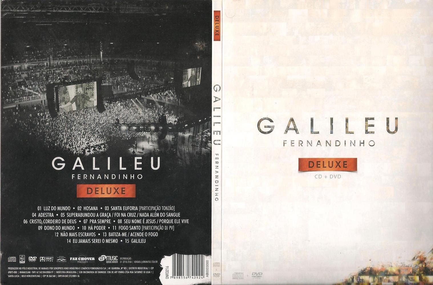 DVD: Fernandinho - Galileu (Deluxe)