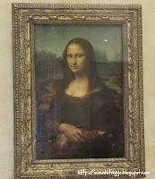 La Mona Lisa, el Louvre, París